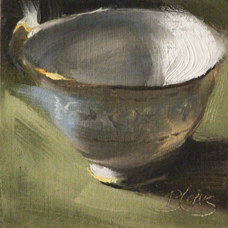 """Teacup Collection"" original fine art by Pamela Blaies"