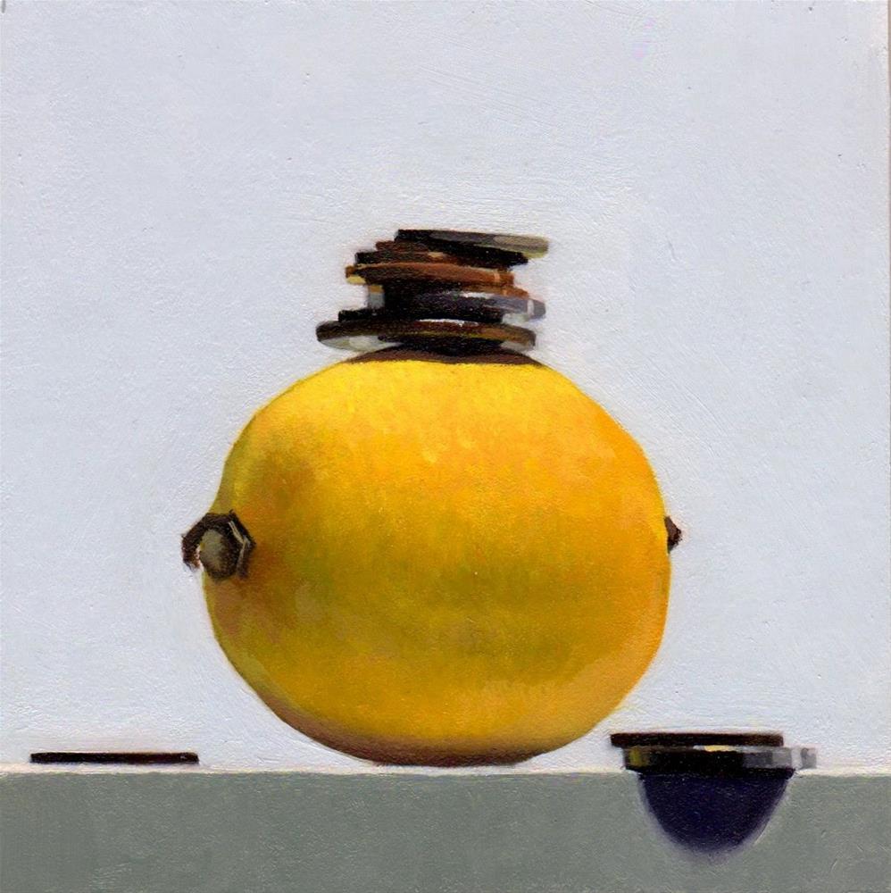 """#352 $.80 Lemon"" original fine art by Brian Burt"