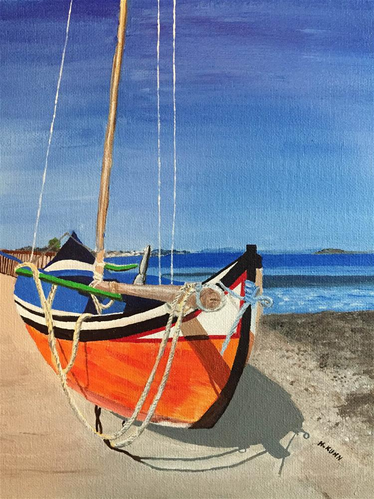 """Setting Sail"" original fine art by Helen Kuhn"