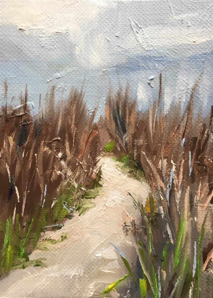 """Path to the Beach"" original fine art by Gary Bruton"