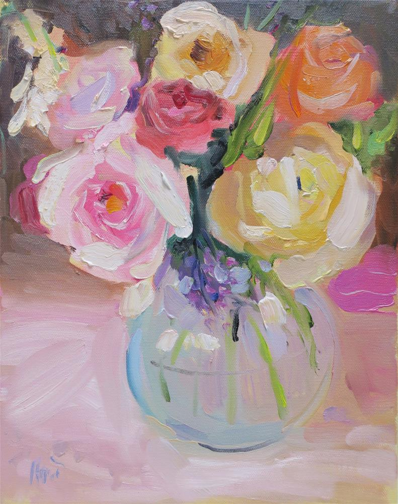 """Reverie"" original fine art by Linda Hunt"