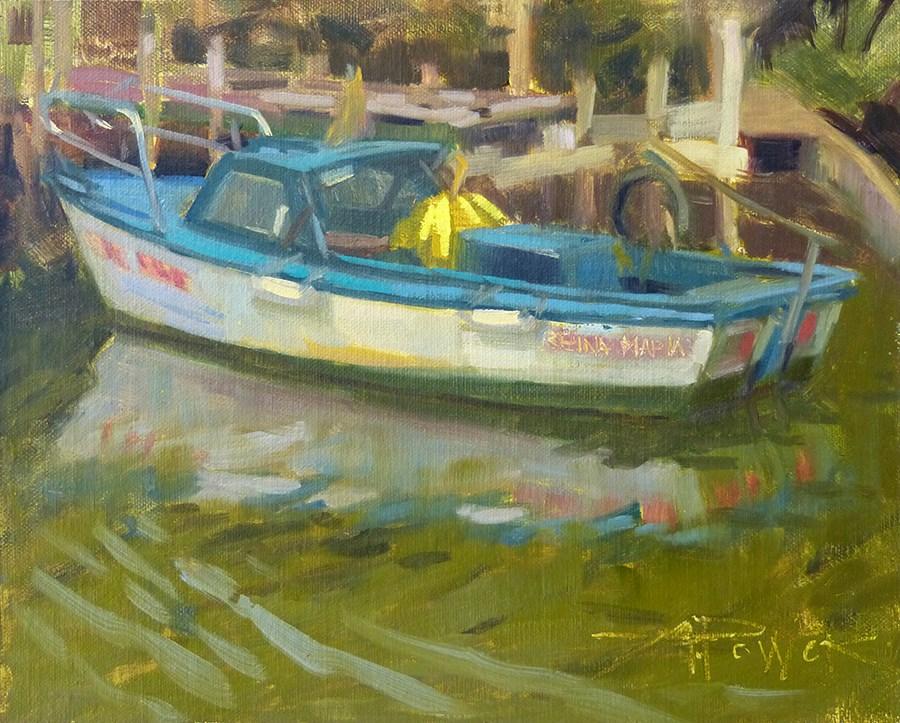"""Cuba - Reina Maria"" original fine art by Anette Power"