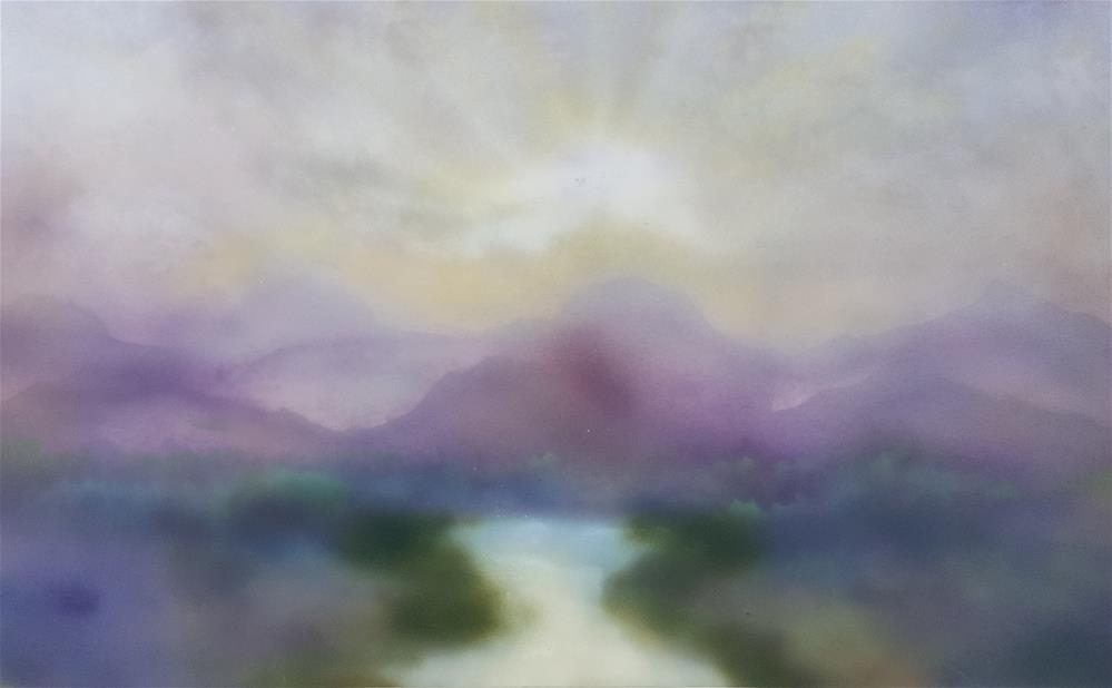 """Serene"" original fine art by Phyllisha Hamrick"