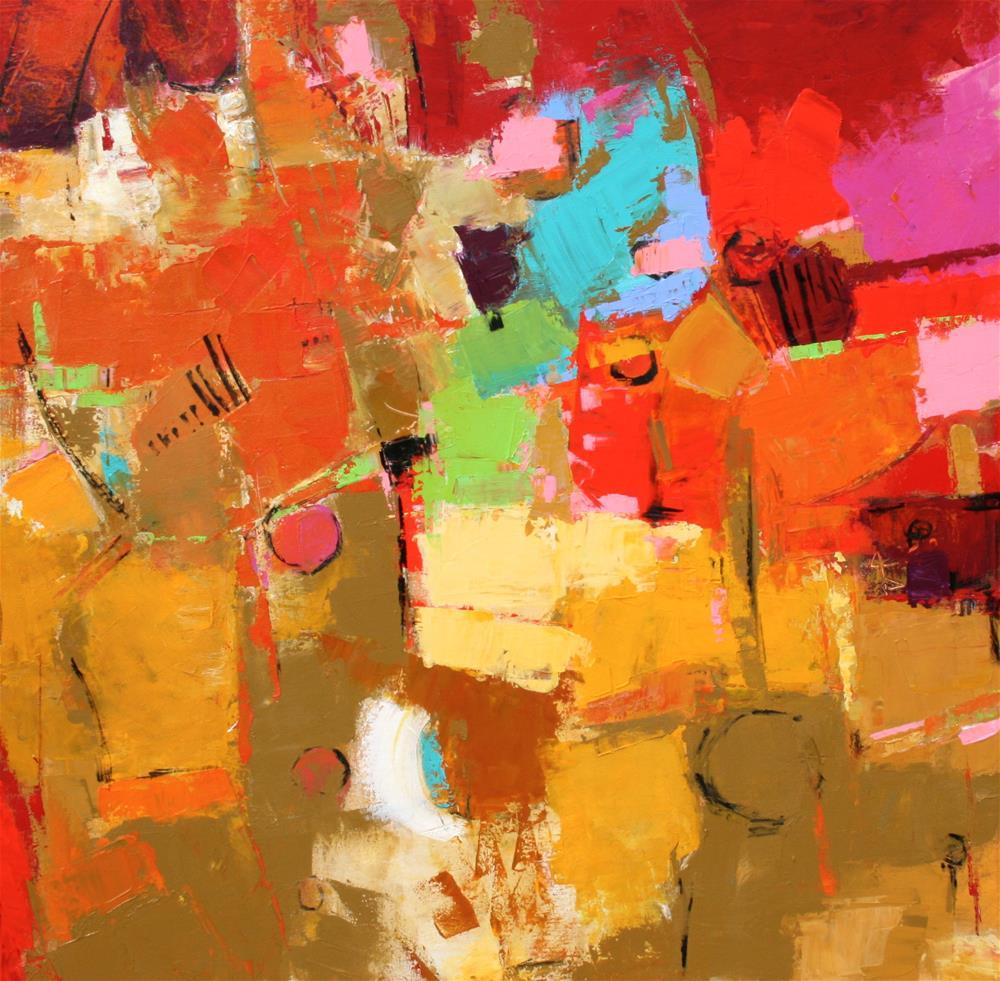 """Inspira"" original fine art by Elizabeth Chapman"