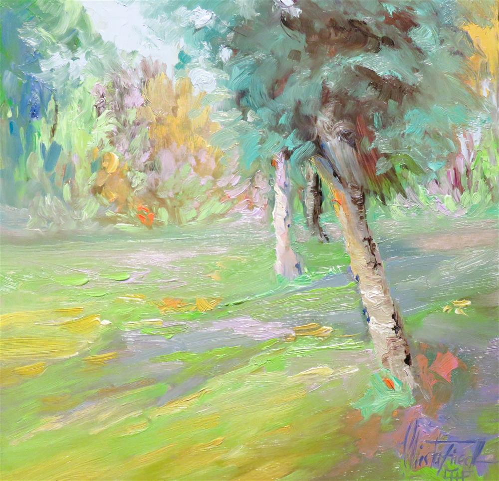 """Spring Fever"" original fine art by Christa Friedl"