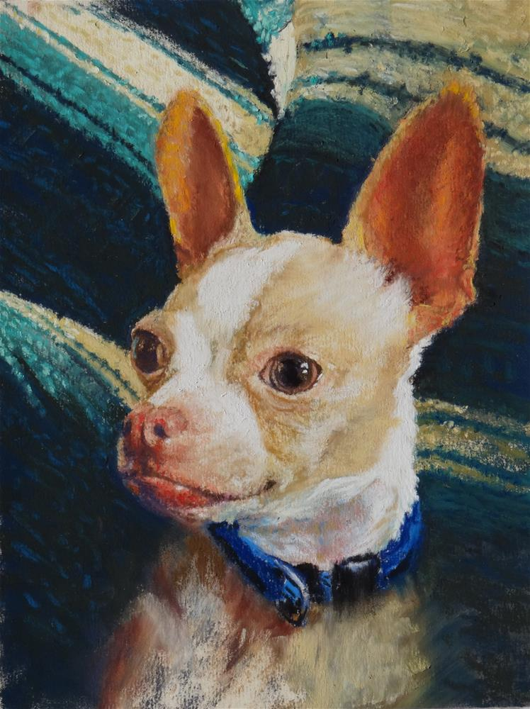 """Baby Chi"" original fine art by Denise Beard"