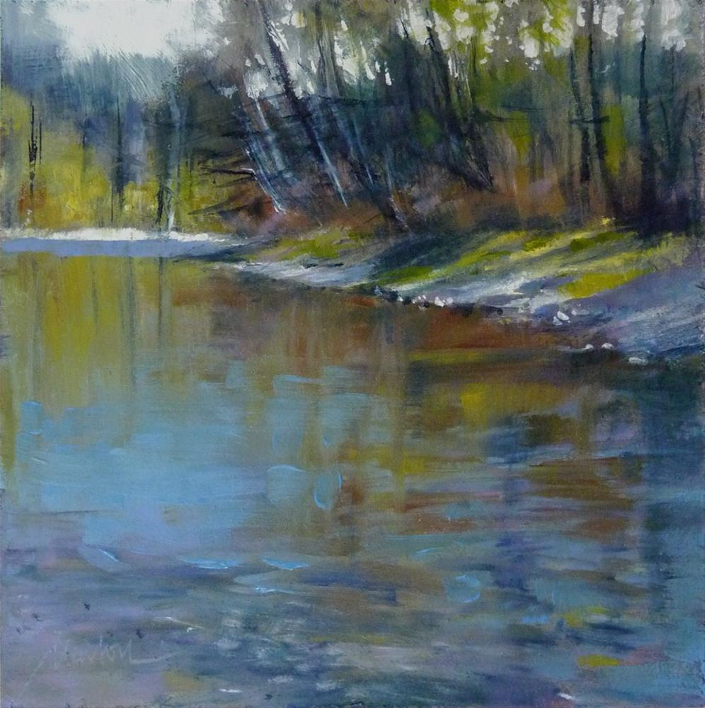 """""""Oil Study 14"""" original fine art by Barbara Benedetti Newton"""