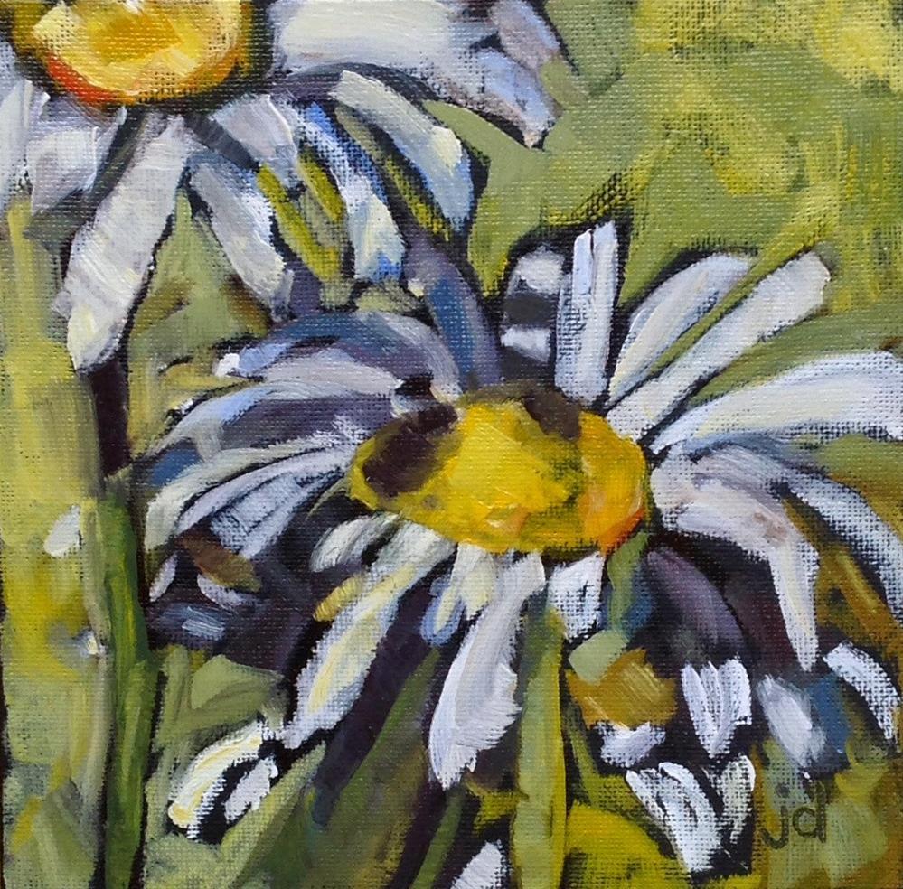 """""""Subtle boldness"""" original fine art by Jean Delaney"""