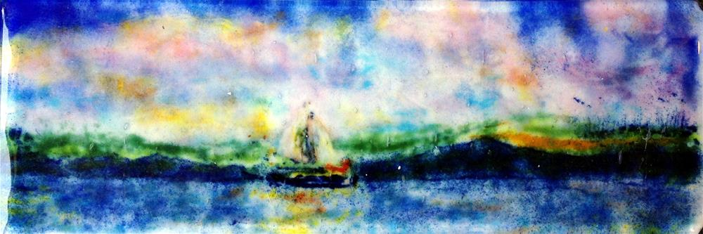 """Last Sail"" original fine art by Kristen Dukat"