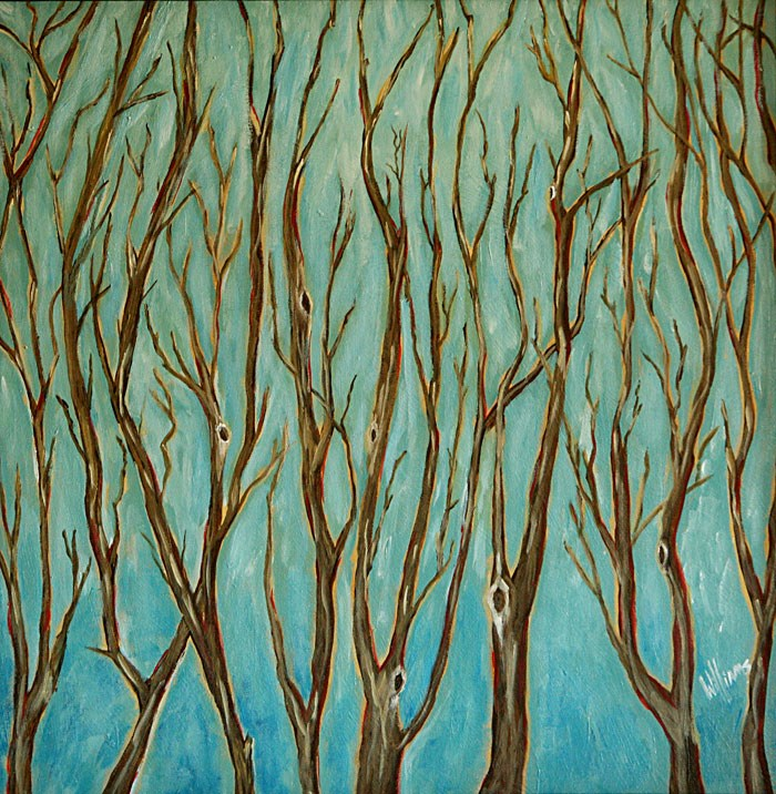 """Stillness-1"" original fine art by Sunny Williams"