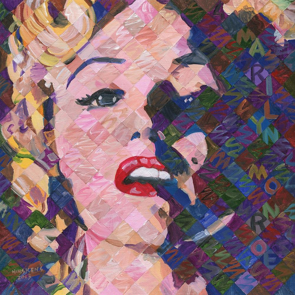 """Marilyn Monroe 2013.12x12.02"" original fine art by Randal Huiskens"