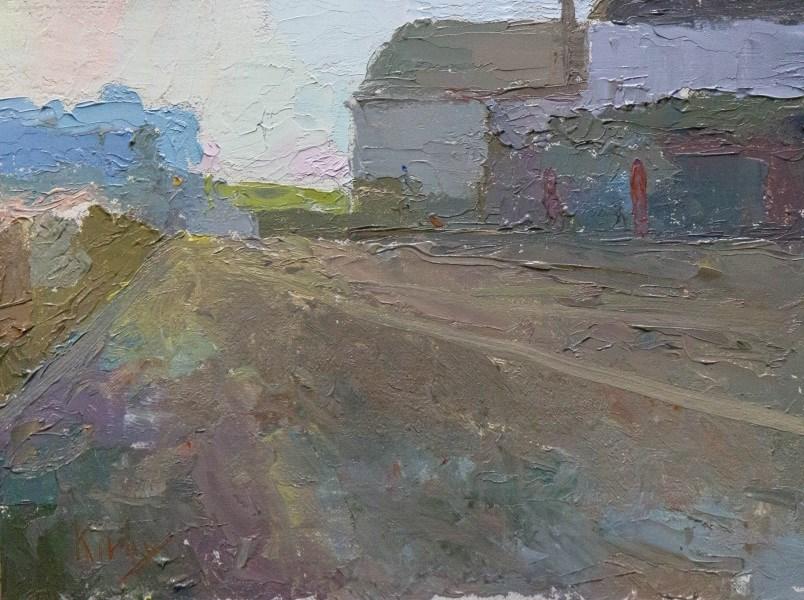 """Urban Land"" original fine art by Randall Cogburn"