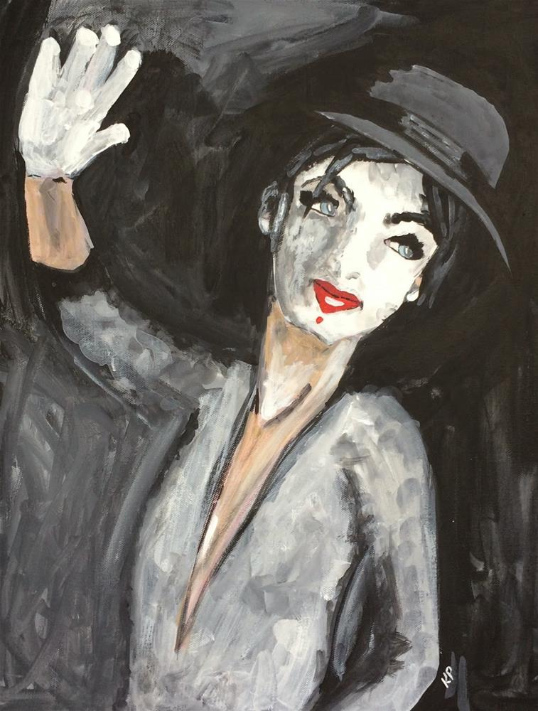 """Who Likes a Mime?"" original fine art by Kali Parsons"
