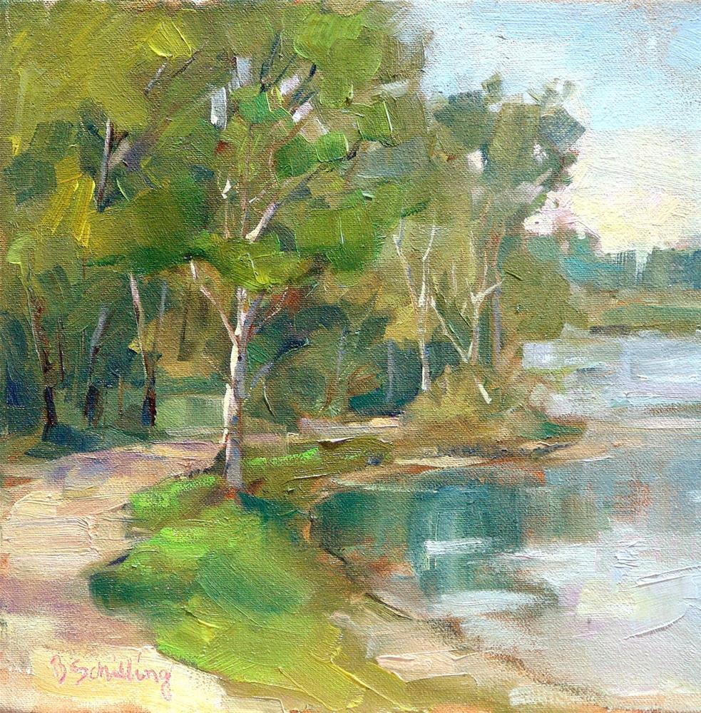 """Johnson Park"" original fine art by Barbara Schilling"