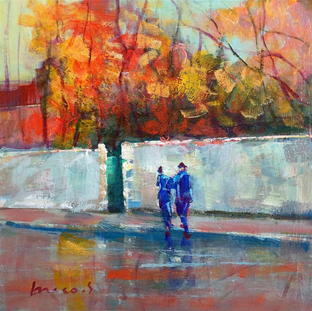 """RAIN"" original fine art by salvatore greco"
