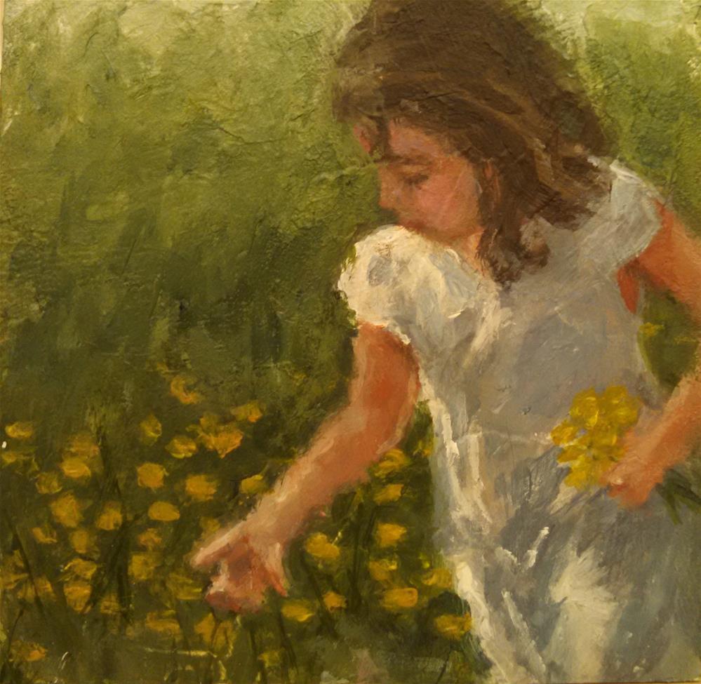 """""""Hope's Flowers"""" original fine art by Cheri Sperl"""