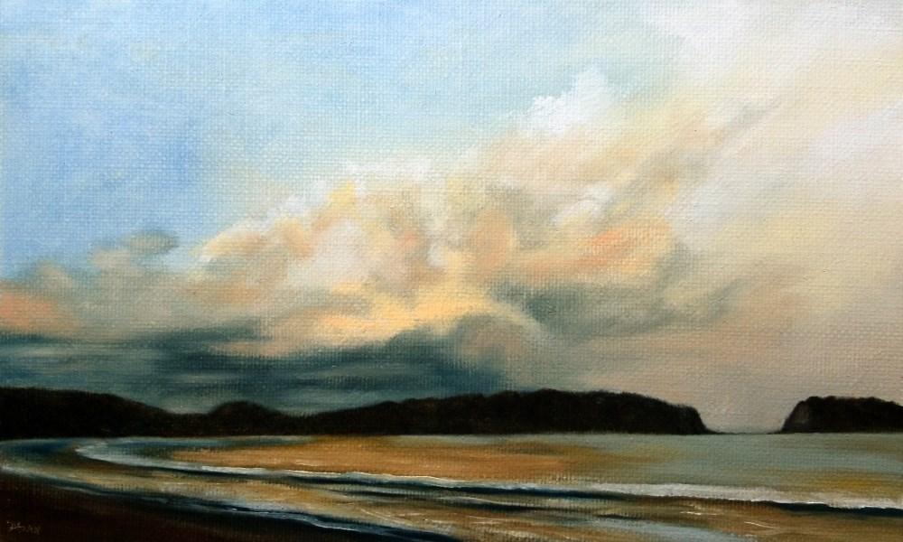 """Stormy Weather"" original fine art by Dalan Wells"