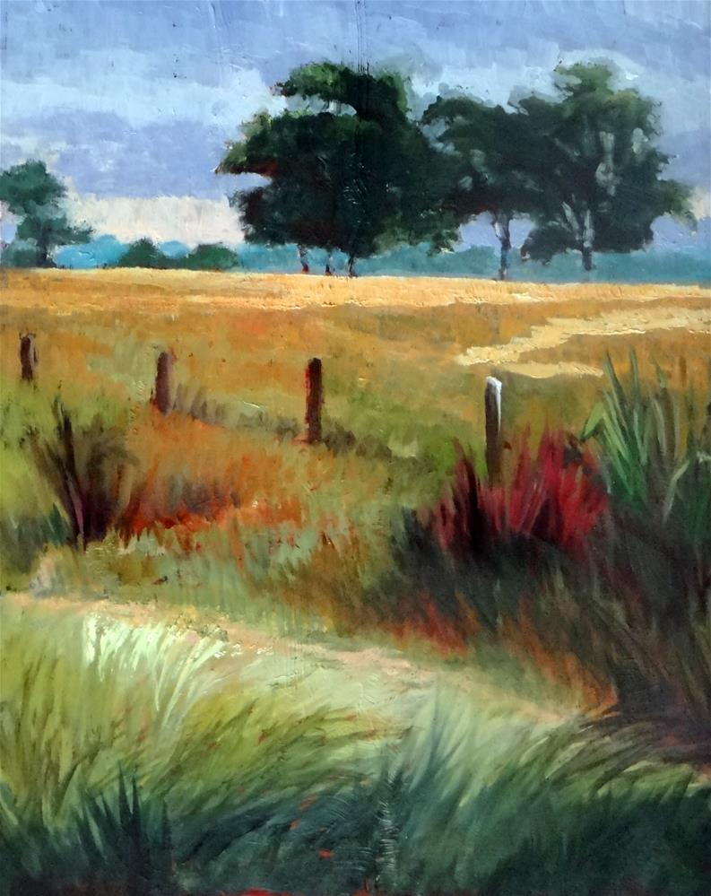 """Katy Prairie"" original fine art by Nancy Paris Pruden"