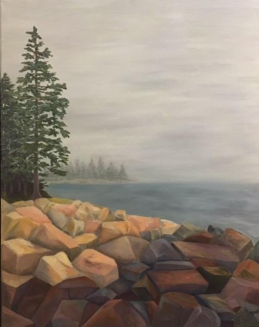 """""""Addison Rocks"""" original fine art by Karen Collins"""