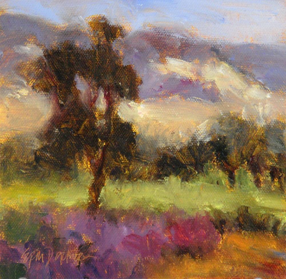 """View from Saracina"" original fine art by Erin Dertner"