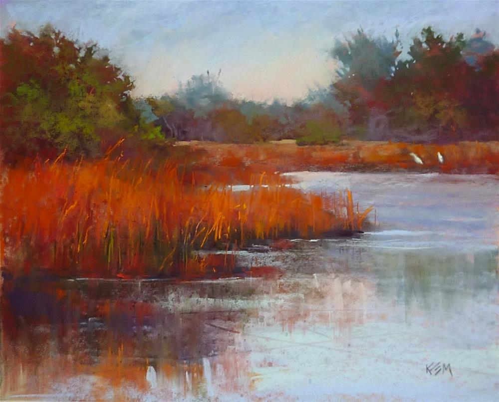 """Another Pastel Demo....Another Question Answered"" original fine art by Karen Margulis"