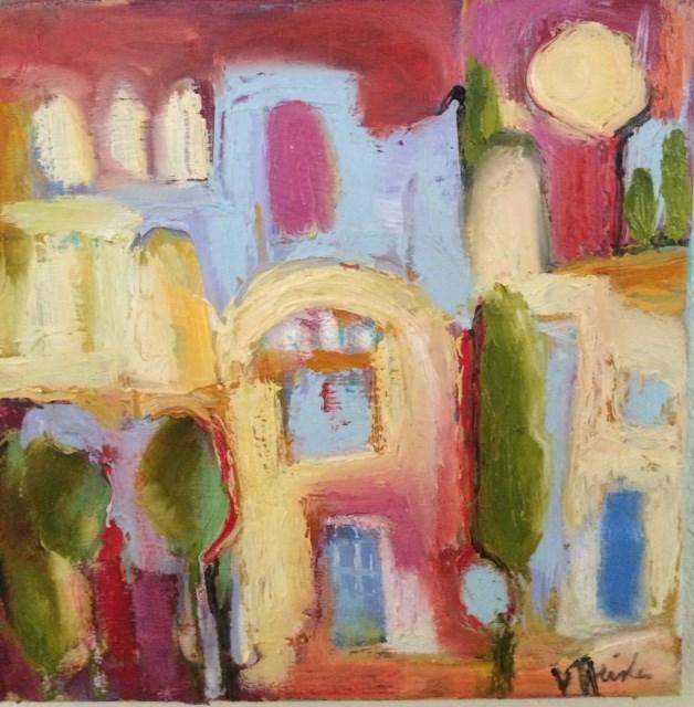"""Marrakesh"" original fine art by Victoria Heisler"