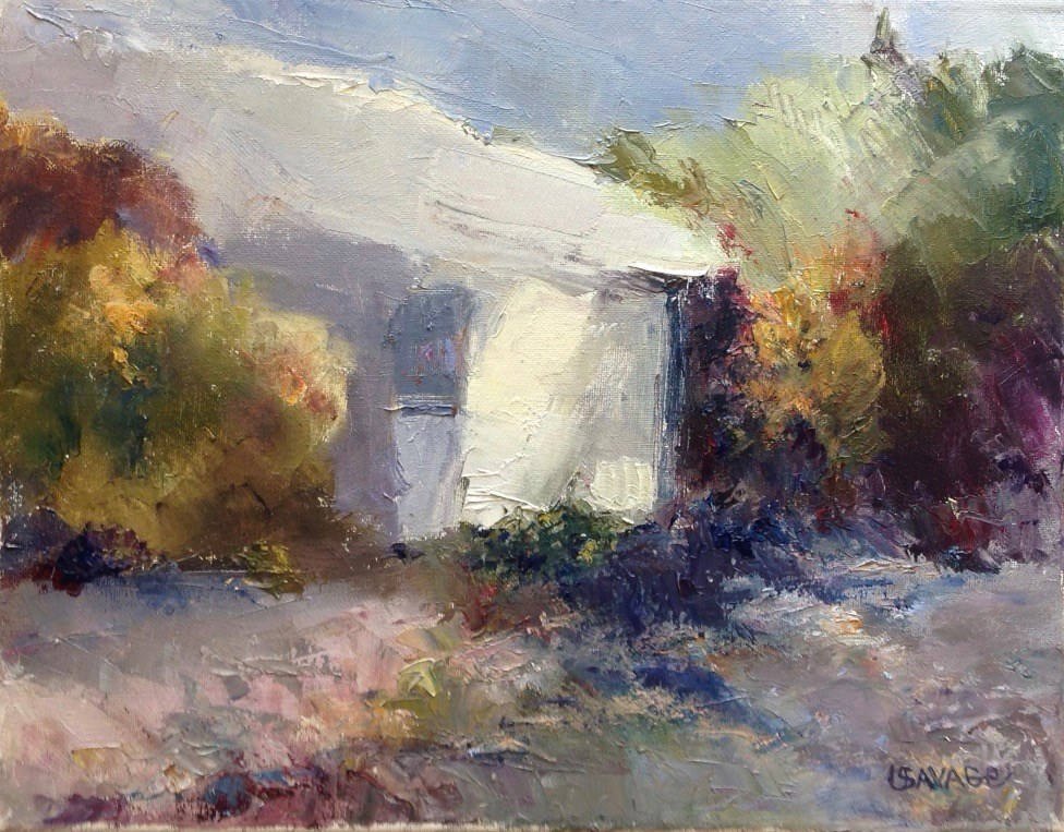 """Just a Shack Mack"" original fine art by Judy Usavage"