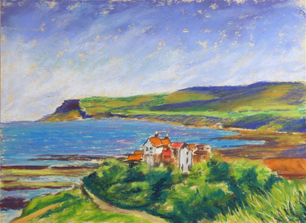 """Robin Hoods Bay"" original fine art by James Humphreys"