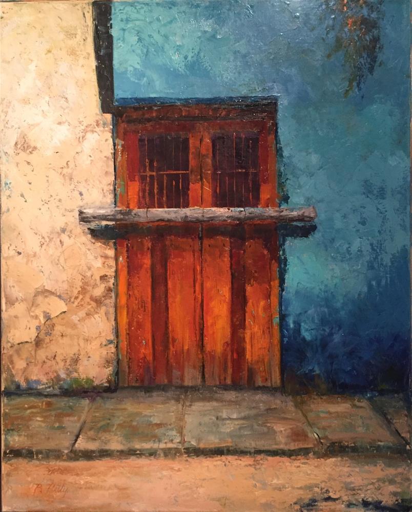 """Cozumel Retro"" original fine art by Barbara Fluty"