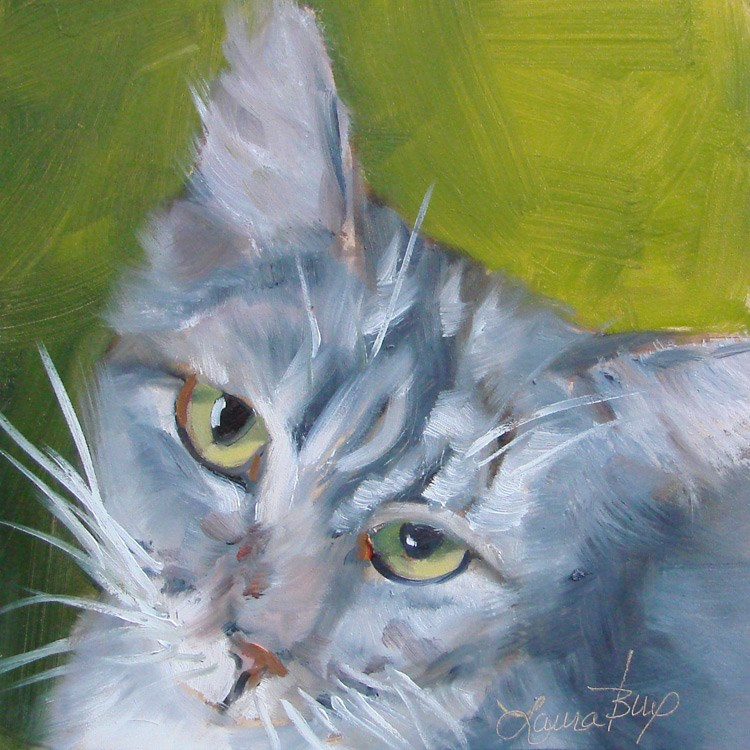 """Please.....Take Me Home - 388"" original fine art by Laura  Buxo"
