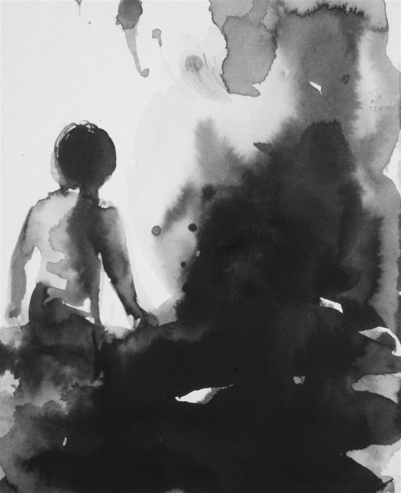 """Openness"" original fine art by Eszter Szicso"