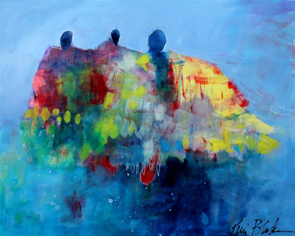 """Calling in the Guardians "" original fine art by Kerri Blackman"