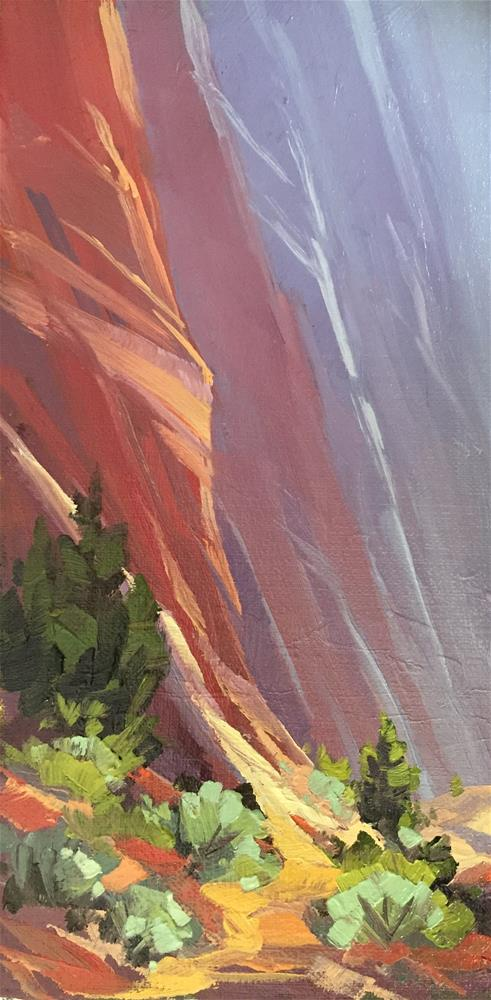 """Canyon Paths"" original fine art by Mary Jabens"