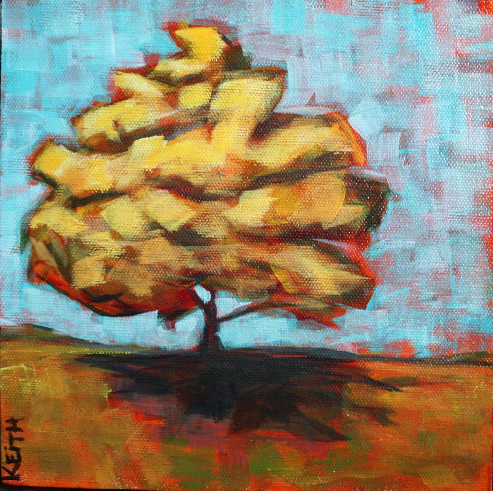 """""""January Tree"""" original fine art by Kandice Keith"""