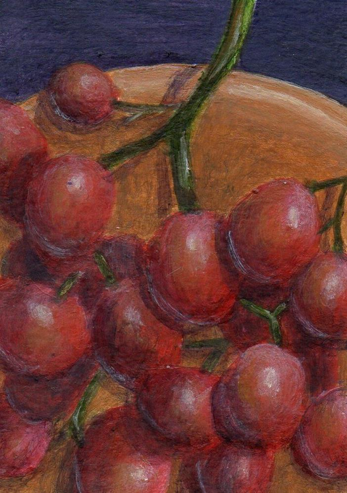 """Clustered"" original fine art by Debbie Shirley"