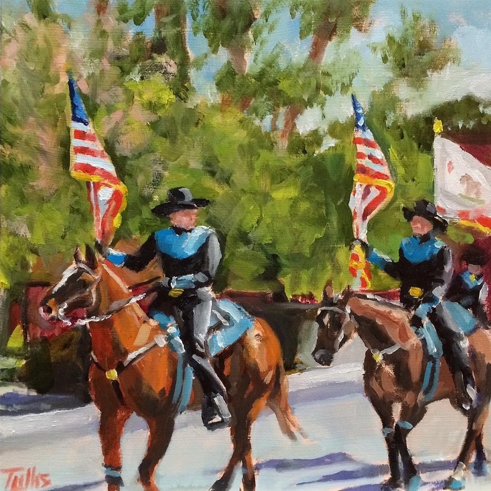 """Boonville Parade"" original fine art by John Tullis"