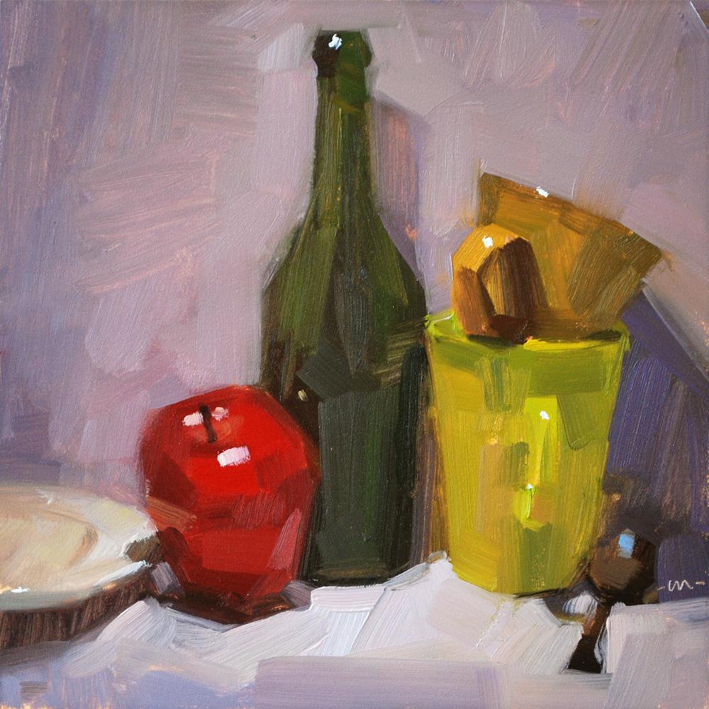 """Odd Company"" original fine art by Carol Marine"