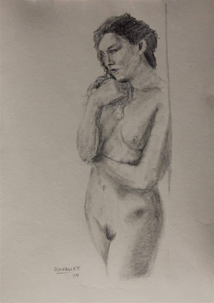 """Nude Study"" original fine art by Daniel Varney"