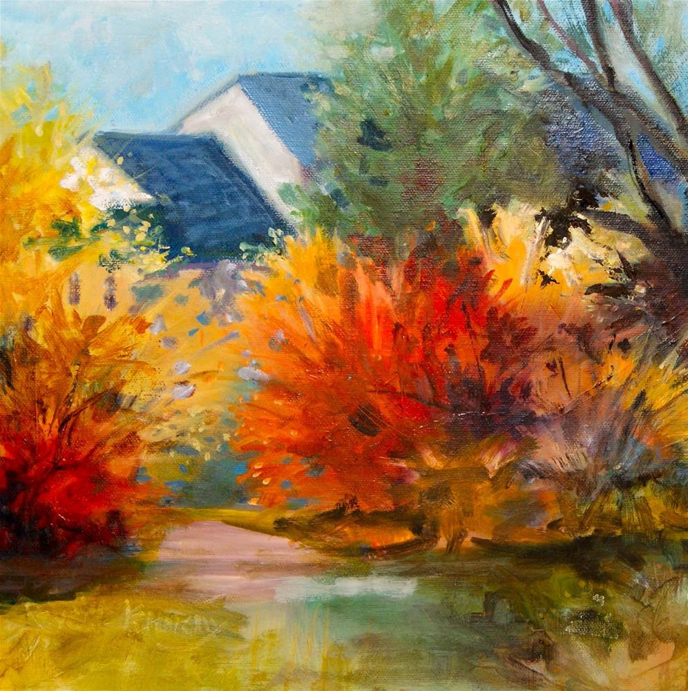 """Autumn Dream"" original fine art by Reveille Kennedy"