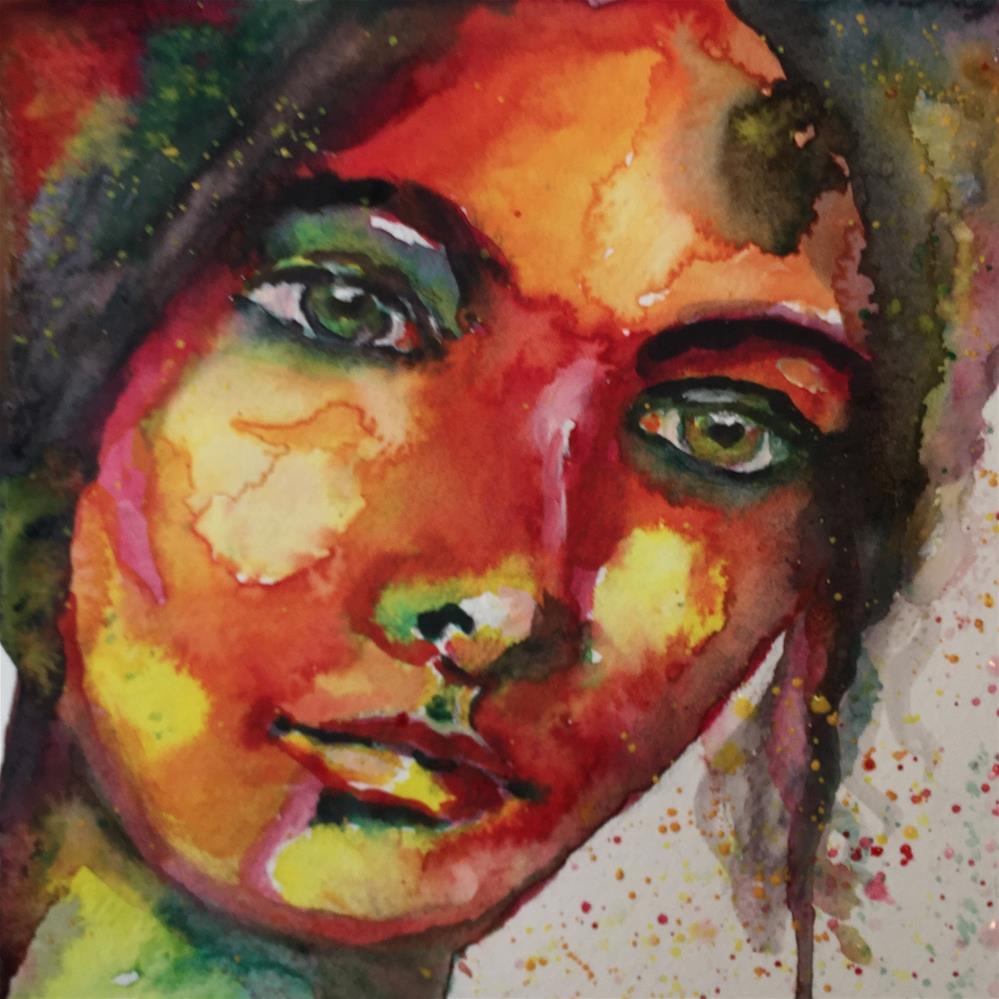 """#70 Carry On"" original fine art by Silke Powers"