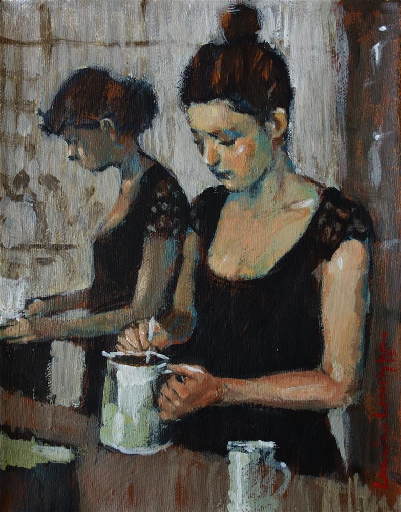"""""""Working Together"""" original fine art by Lorraine Lewitzka"""