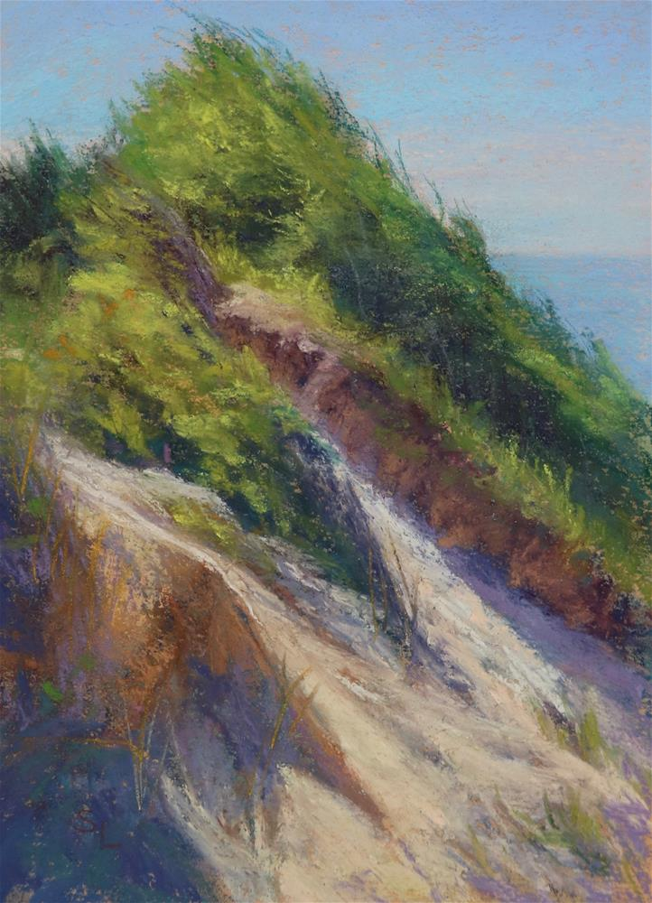 """California Dunes"" original fine art by Sharon Lewis"