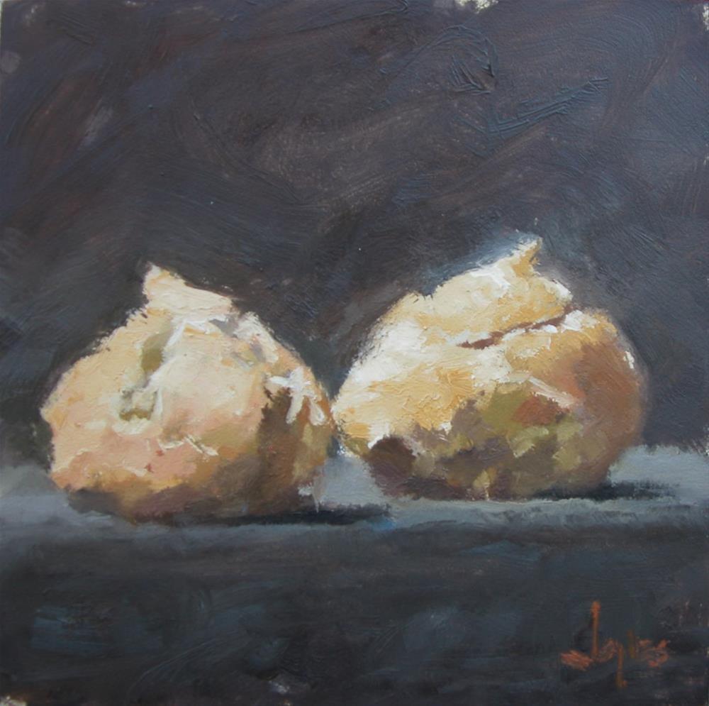 """Cream Puffs"" original fine art by Richard Jones"