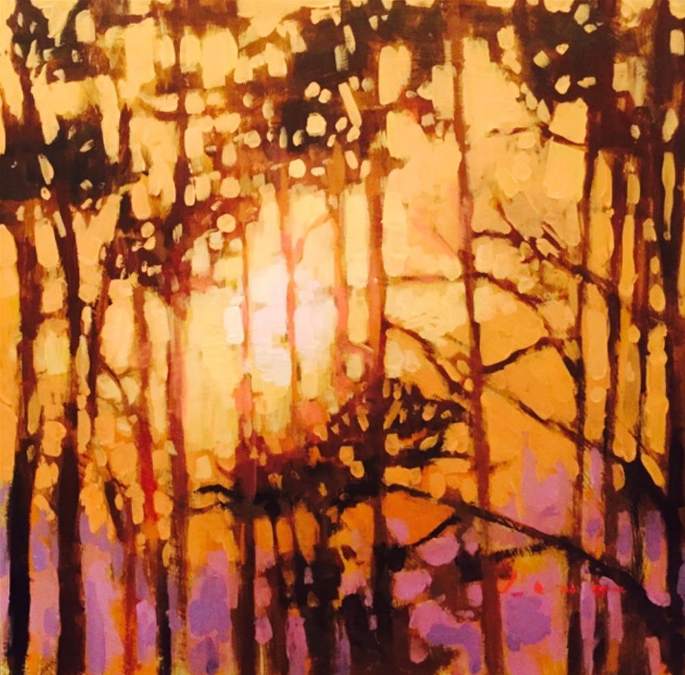 """Summer Heat"" original fine art by Chris Long"