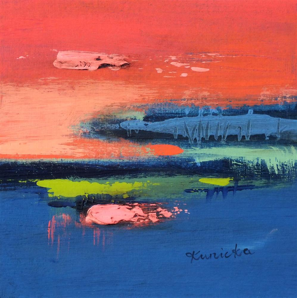 """Landscape 354"" original fine art by Ewa Kunicka"