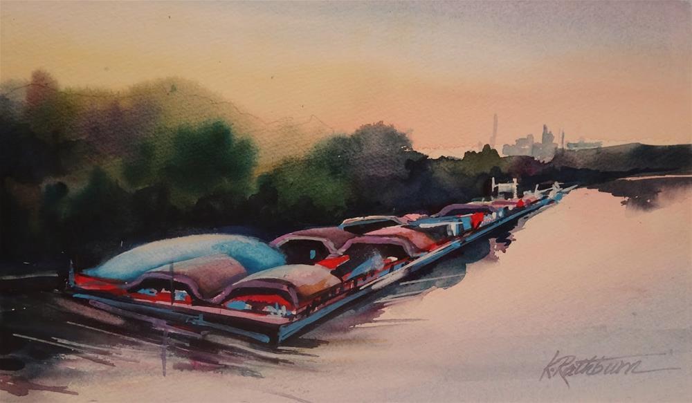 """Insights on Industry XVI"" original fine art by Kathy Los-Rathburn"