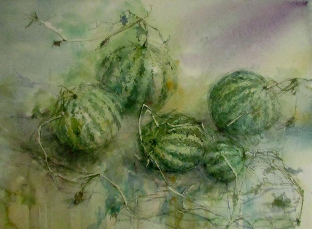 """""""Desert squash"""" original fine art by Midori Yoshino"""