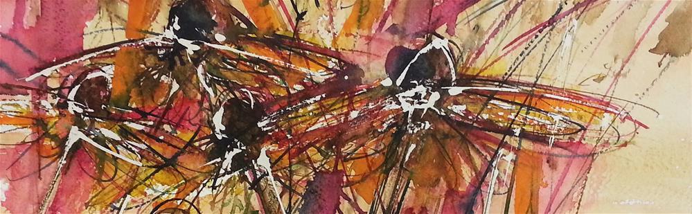 """Rudbeckia 3"" original fine art by Marlena Czajkowska"