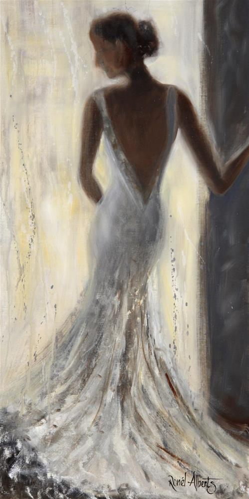 """""""taking a moment"""" original fine art by Ronel Alberts"""