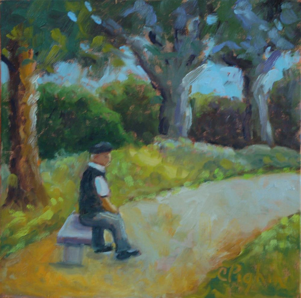 """Resting"" original fine art by Carol Pighin"